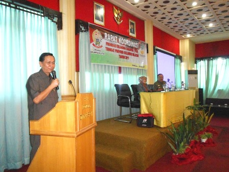Rakor PKH Di Hotel Dinasty Makassar