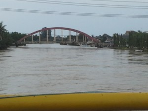 Kondisi Air sungai di Pangkep