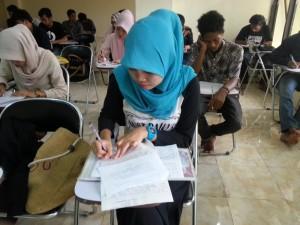 Suasana Ujian Mid Semester
