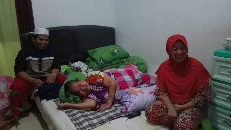 Silaturahmi ke rumah kediaman Ahyan