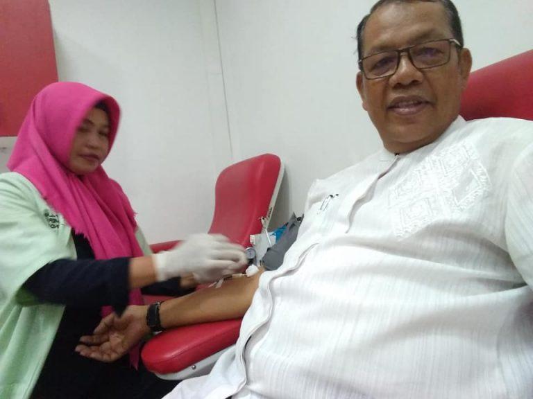 Donor darah untuk Palu