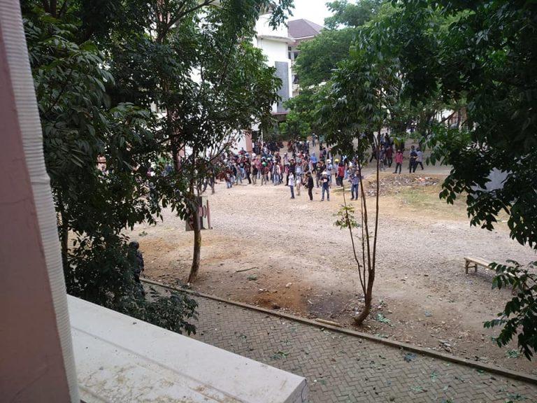 Dua fakultas tawuran, kampus diliburkan