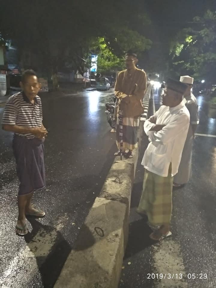 Dishub tutup jalur depan Masjid Al-Abrar