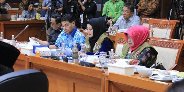 Lisda Hendrajoni, Perjuangankan Tambahan Anggaran Tali Asih Untuk Tagana Indonesia