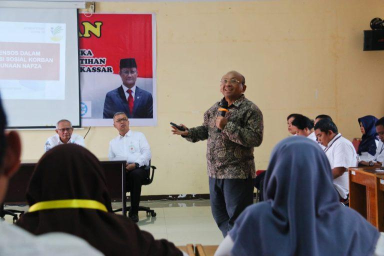 Diklat Pekerja Sosial Adiksi Narkotika di Kota Makassar