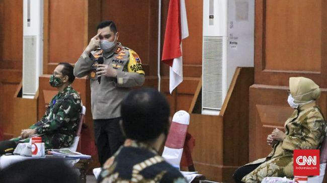 Kapolda Jatim Usir Kapolsek Gubeng Kompol Naufil Karena Tertidur Dalam Pertemuan