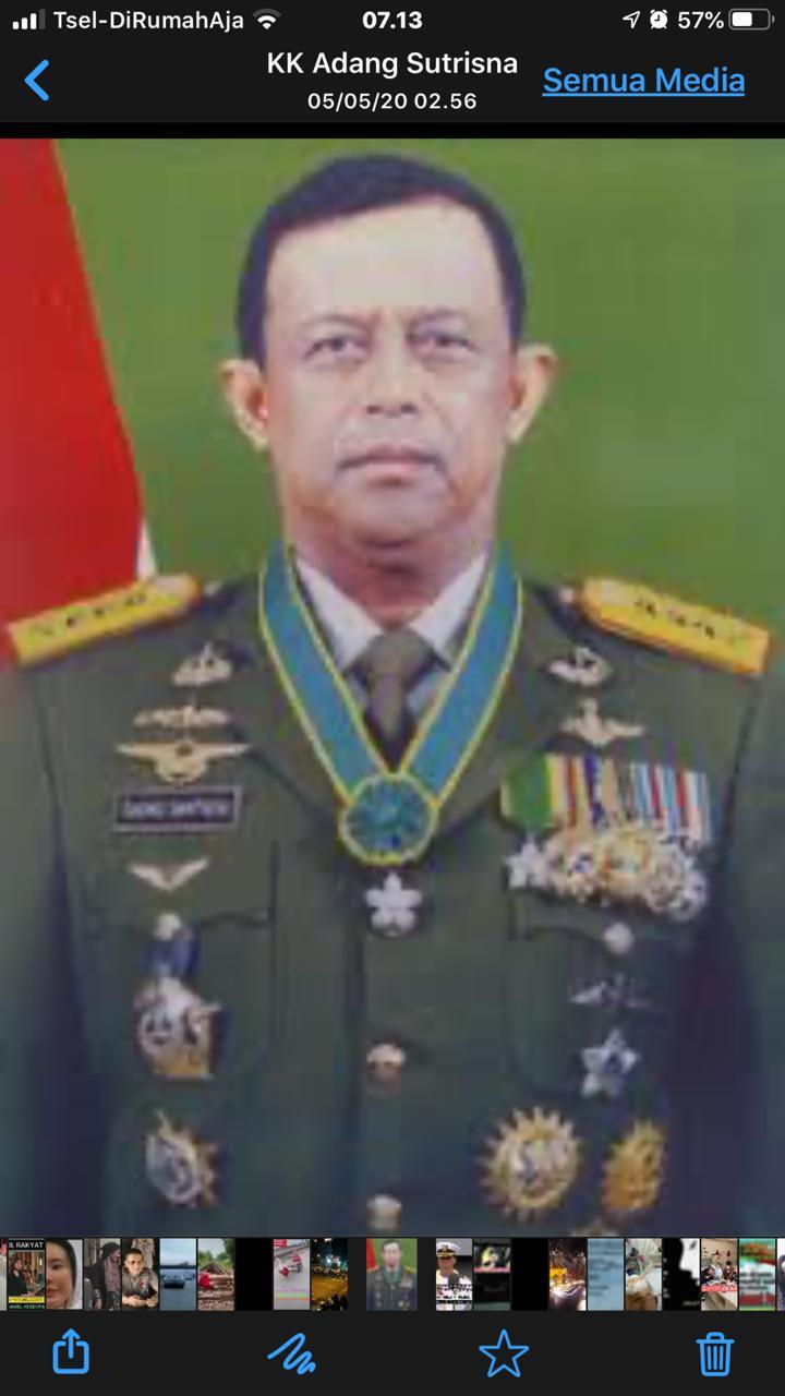 Jenderal Joko Santoso Berpulang Kerahmatullah