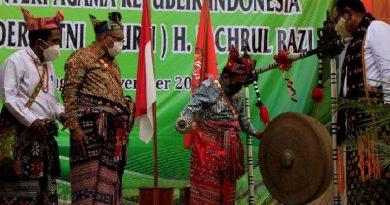 Menteri Agama, Resmikan Institut Agama Kristen Negeri Kupang
